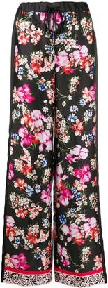 Liu Jo Floral-Print Wide Trousers