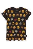 Little Eleven Paris Toddler Boy's Little Elevenparis Emoji Print T-Shirt