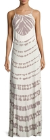 Young Fabulous & Broke Megan Scoopneck Printed Maxi Dress