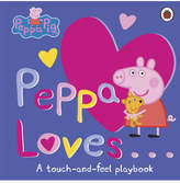 Original Penguin Peppa Loves: A Touch-And-Feel Playbook