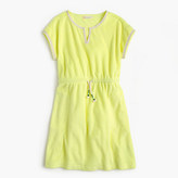 J.Crew Girls' drawstring terry dress
