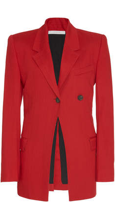 Peter Do Long-Lined Cady Blazer Size: 36