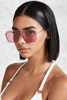 Forever 21 Rimless Aviator Sunglasses