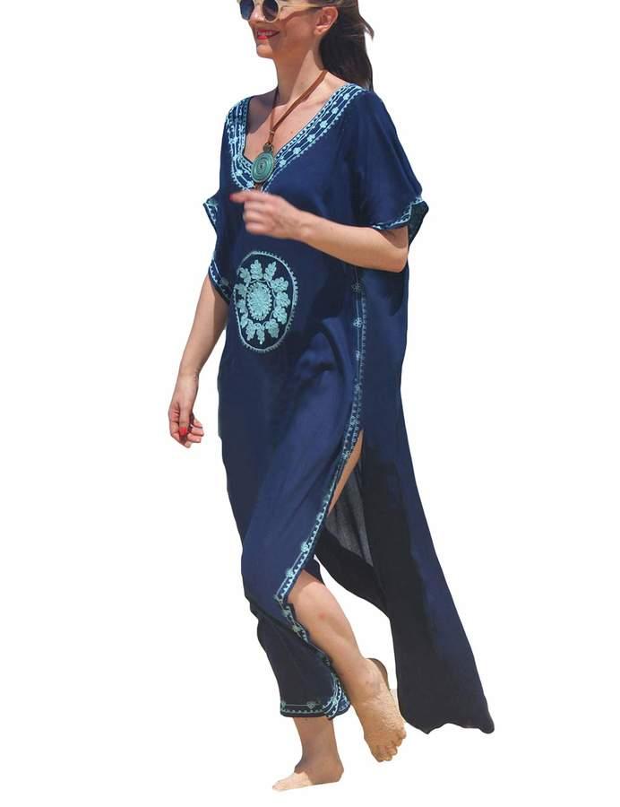fdd0ad813396e Navy Blue Cover Ups - ShopStyle Canada
