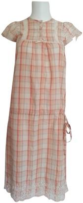 Gat Rimon Orange Cotton Dresses