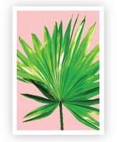 Design Mondo Fan Palm Art Print, A3