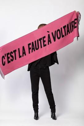 Zadig & Voltaire Elliot Voltaire Scarf