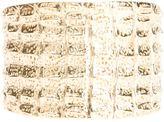 Yves Saint Laurent Vintage crocodile effect cuff