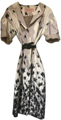 Giambattista Valli Ecru Cotton Trench Coat for Women