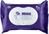 Klorane Make-Up Remover Biodegradable Wipes with Soothing Cornflower