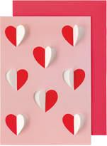 Cath Kidston Mono Hearts Greetings Card