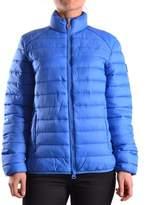Invicta Women's Blue Polyamide Down Jacket.