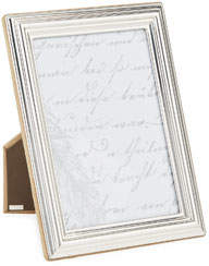 "Monica Rich Kosann Tapered Sterling Silver Picture Frame, 5"" x 7"""