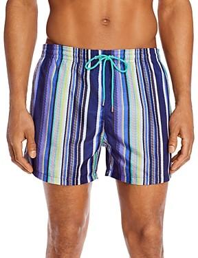 Paul Smith Maharan Stripe Swim Trunks