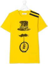John Galliano TEEN logo print T-shirt