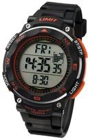 Limit Black & Orange Pro Xr Silicone Strap Watch 5485.02
