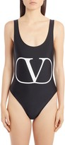 Valentino VLOGO One-Piece Swimsuit