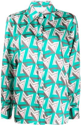 MSGM M print shirt