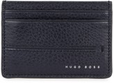 Boss Elite Navy Leather Card Holder