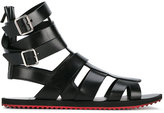 Givenchy flat sandals - men - Leather/rubber - 41