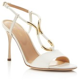 Sergio Rossi Twist High Heel Sandals