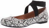 Thumbnail for your product : Jessica Simpson Women's Mandalaye Square Toe Ballet Flats White/Black Size 6
