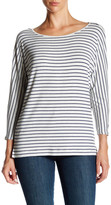 Soft Joie Maylyn Stripe 3/4 Length Sleeve Tee