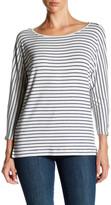 Soft Joie Maylyn Striped 3/4 Length Sleeve Tee