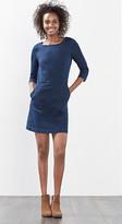 Esprit Close-fitting stretch denim dress