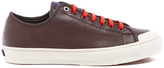 Paul Smith Men's Colston Leather Court Trainers Dark Grey Washed