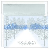"Hortense B. Hewitt 16ct ""Happy Holidays"" Trees Holiday Boxed Cards"