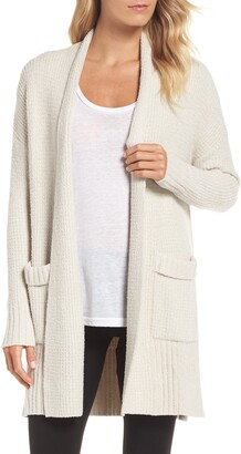Barefoot Dreams CozyChic(R) Lite Long Weekend Cardigan