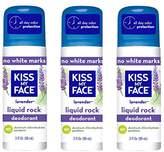 Kiss My Face 3 Piece Liquid Rock Aluminum Free Roll-On Deodorant,9 Ounce
