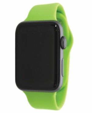 Nimitec Women's Silicone Solid Color Apple Watch Strap 42mm