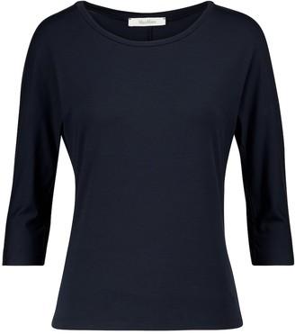 Max Mara Circe stretch-jersey T-shirt