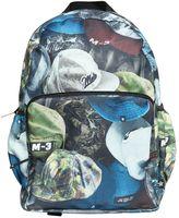 Molo Hats Printed Nylon Canvas Backpack