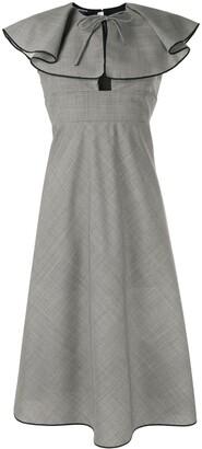 Rochas Ruffled Dress