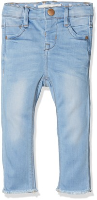 Name It Baby Girls' Nmfpolly Dnmtia 2002 Pant Jeans