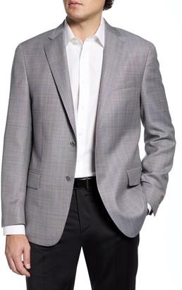 Hart Schaffner Marx Classic Fit Solid Wool Sport Coat