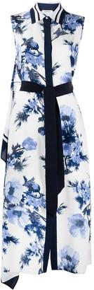 P.A.R.O.S.H. Floral-Print Shirt Dress