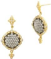 Freida Rothman Women's Disc Drop Earrings