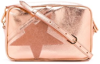 Golden Goose Star Metallic Cross Body Bag