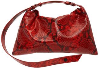 Simon Miller Red Snake Puffin Bag