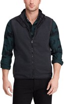 Chaps Men's Classic-Fit Sweater Fleece Vest