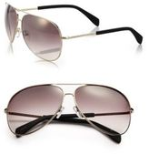 Marc by Marc Jacobs Gradient 63MM Aviator Sunglasses
