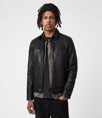 AllSaints Lark Leather Jacket