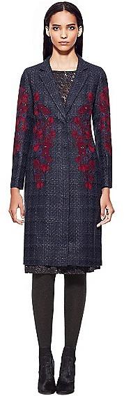 Tory Burch Scarlet Coat