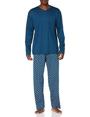 Calida Men's Relax Streamline Pyjama Set,Medium