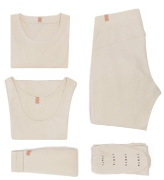 Lunya - Restore Pyjama Travel Set - Beige