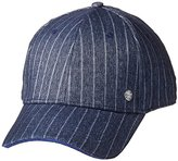 Perry Ellis Men's Stretch Pinstripe Baseball Hat